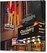 Bowlmor Lanes At Times Square Canvas Print