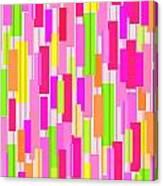 Boxed Stripe Canvas Print