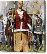 Boxer Rebellion, 1900 Canvas Print
