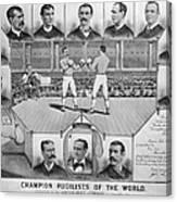 Boxing: American Champions Canvas Print
