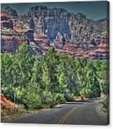 Boynton Canyon Colors Canvas Print