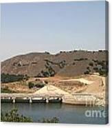 Bradbury Dam Canvas Print