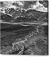 Braided River Canvas Print