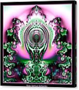 Brain Power Full Of Ideas Fractal 117 Canvas Print