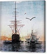 Brave New World Canvas Print
