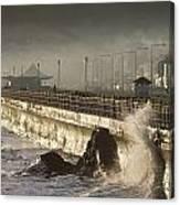 Bray Promenade, Bray, County Wicklow Canvas Print