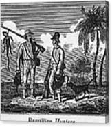 Brazil: Hunters, C1820 Canvas Print