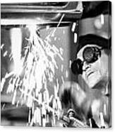 Brazil: Welder, 1961 Canvas Print