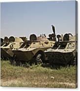 Brdm-2 Combat Reconnaissancepatrol Canvas Print