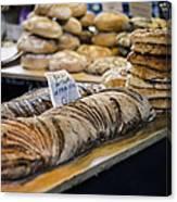 Bread Market Canvas Print