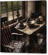 Breakfast Table Canvas Print