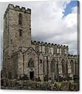 Breedon Church Canvas Print