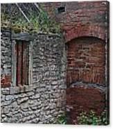 Brick And Stone England Canvas Print