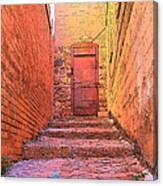 Old Stairs - Bisbee Az Canvas Print