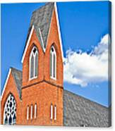 Brick Steeple Canvas Print