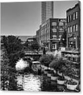 Bricktown Canal II Canvas Print