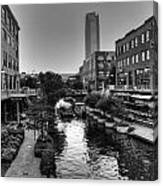 Bricktown Canal Canvas Print