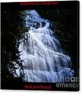 Bridal Falls B.c. Canada Two Canvas Print