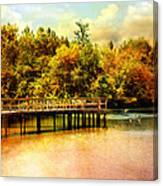 Bridge At Cypress Park Canvas Print