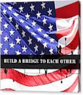 Bridge-builder Canvas Print