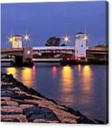 Bridge In The Jetty Canvas Print