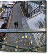 Bridge Of Locks Canvas Print