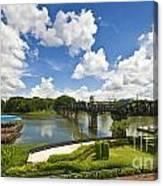 Bridge On The River Kwai Thailand Canvas Print