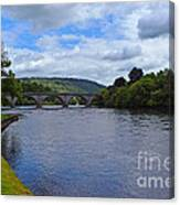 Bridge On The River Tay Canvas Print