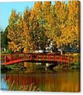 Bridge Over Placid Waters Canvas Print