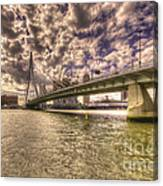 Bridge Over Rotterdam  Canvas Print