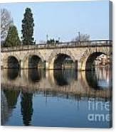 Bridge Over The River Thames Canvas Print
