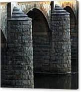 Bridge Pillars Canvas Print