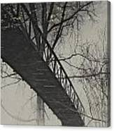 Bridge Reflection Canvas Print