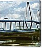 Bridge To Charleston Canvas Print