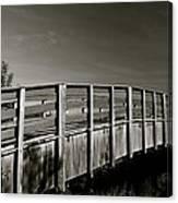 Bridge To The Falls Canvas Print