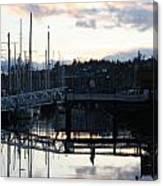 Bridge To The Future Canvas Print