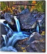 Bridge To The Seasons Canvas Print