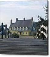 Bridge To Whalehead Canvas Print
