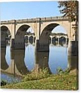 Bridge Upon Bridge Canvas Print