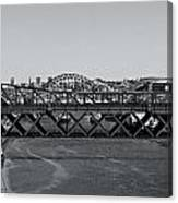 Bridges Of Newcastle On Tyne Canvas Print
