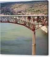 Bridging The Canyon Canvas Print