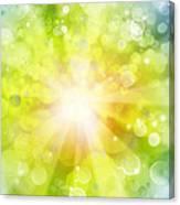 Bright Background Canvas Print