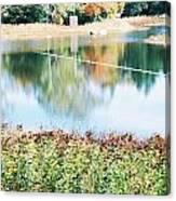 Bright Lake Canvas Print