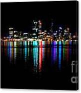 Bright Lights Big City Canvas Print