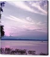 Brilliant Everglades Sunset Canvas Print