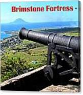 Brimstone Fortress Poster Canvas Print