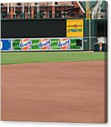 Bringing Out The Batting Cage Canvas Print