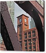 Britannica Building Chicago Illinois Canvas Print