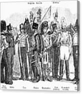 British Army, 1855 Canvas Print