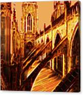 British Christian Cathedral  Canvas Print